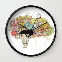 Monsters  Wall Clock