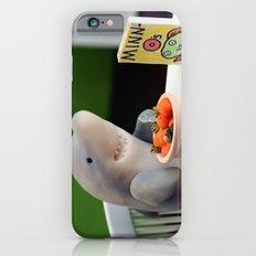 Breakfast for Sharks iPhone 6 Slim Case