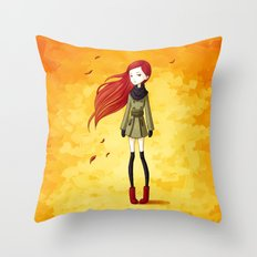 Autumn Breeze Throw Pillow
