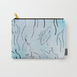 Lovely Ladies - Abstract Line Drawings Carry-All Pouch