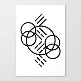 3-4-5-6_001_bw Canvas Print