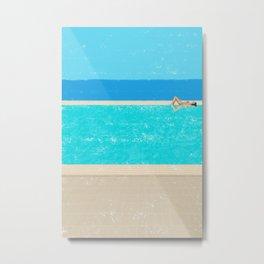 pool-2 Metal Print