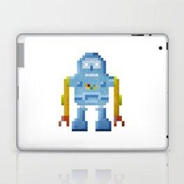 Blue pixel robot #1 Laptop & iPad Skin