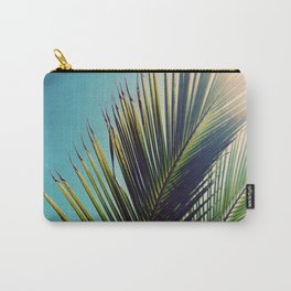 Sunny Palm Tree Carry-All Pouch