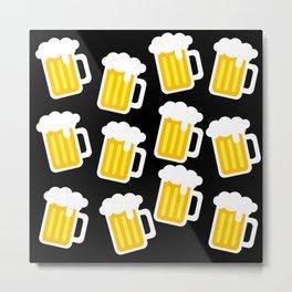 beer love Metal Print