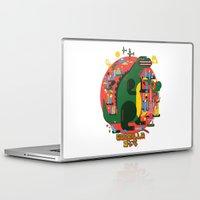 godzilla Laptop & iPad Skins featuring GODZILLA by Katboy 7