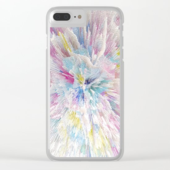 Abstract 125 Clear iPhone Case