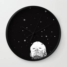 Bad words from the depths of the past. Wall Clock