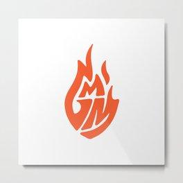 Good Mythical Morning Official Logo Tee Metal Print
