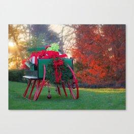 Christmas At Warrenton Canvas Print