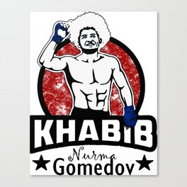 Khabib Canvas Print