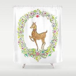 My Deerest Shower Curtain