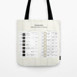 The Black and the White Tote Bag