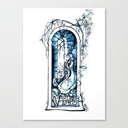 A Winter's Tale - Fantasy Art Nouveau - Shakespeare Illustration Art Canvas Print