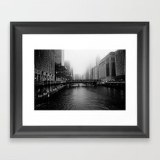 Up River Framed Art Print