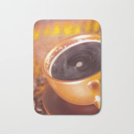 coffee time Bath Mat