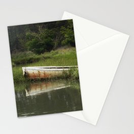 The lost boat Stationery Cards