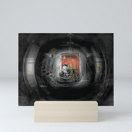 Thru The Lens Mini Art Print