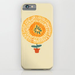 I'm a flower - be the best you can be iPhone Case