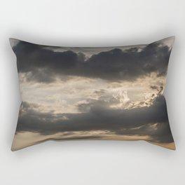 Sky, Clouds and Sunlight Rectangular Pillow