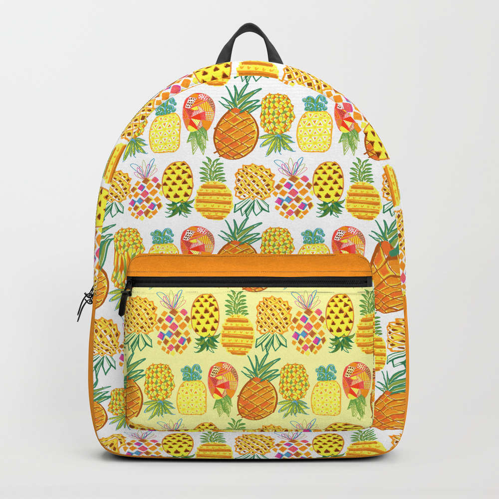Pineapple Lineup Backpack by Jsquarepresents BKP7285562