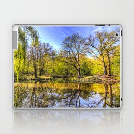 The Tranquil Pond Laptop & iPad Skin