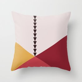 bandana || fruit & berry chia pudding Throw Pillow