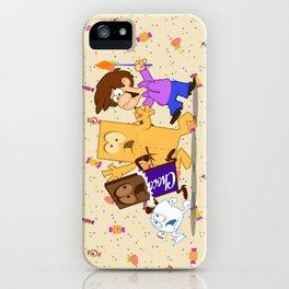 the smore's attacked iPhone Case