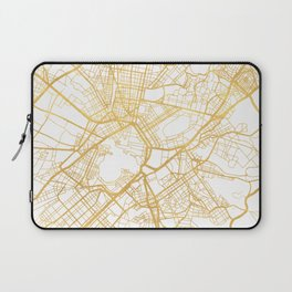 ATHENS GREECE CITY STREET MAP ART Laptop Sleeve