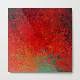 Figuratively Speaking, Abstract Art Metal Print