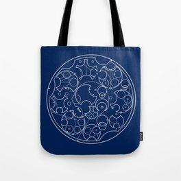 Gallifreyan Sherlock Tote Bag