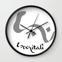 Mitali. A webcomic. Wall Clock