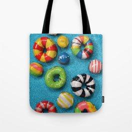Carnival Donuts Tote Bag
