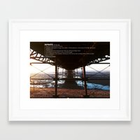 infinite Framed Art Prints featuring INFINITE by MATT WARING