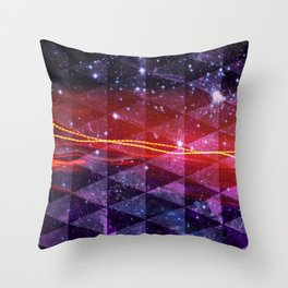 In SpaceS BETWEEN Throw Pillow