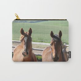Horse Friends Photography Print Carry-All Pouch