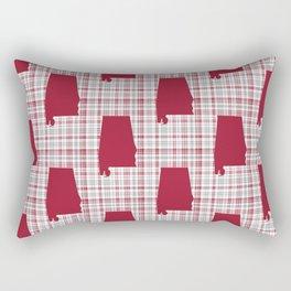 Bama alabama crimson tide pattern gifts for university of alabama students and alumni Rectangular Pillow