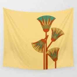 Ancient Egyptian lotus - Colorful Wall Tapestry