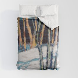 White Birch Grove / Dennis Weber / ShreddyStudio Comforters