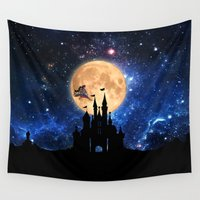 olaf Wall Tapestries featuring ARABIAN NIGHT by alexa