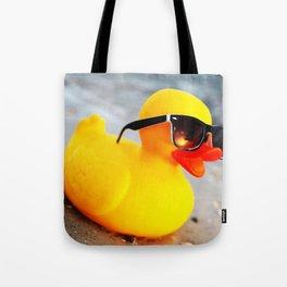 Beach Duck Tote Bag