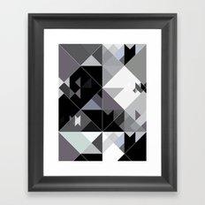 Bizarre Love Triangle 2 Framed Art Print