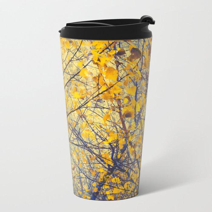 trees IX Metal Travel Mug