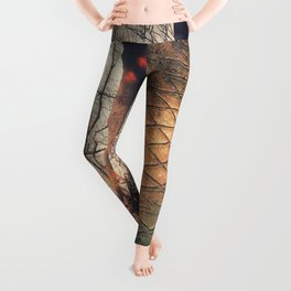 Scars of a life Leggings