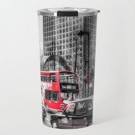 Canary Wharf  London Travel Mug