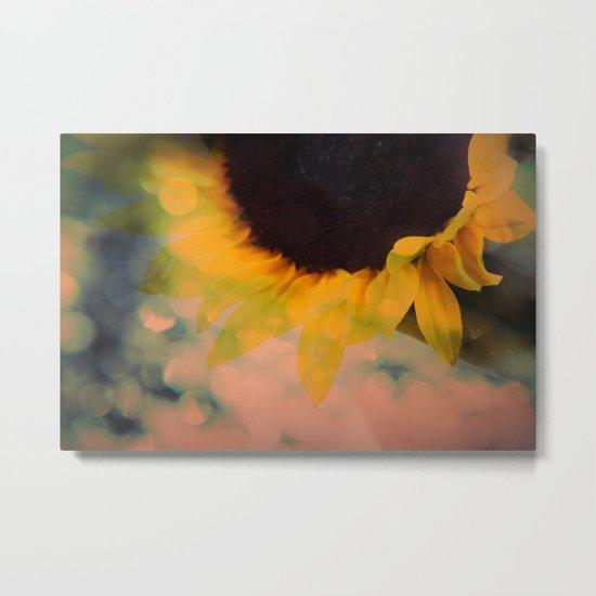 Sunflower II (mini series) Metal Print