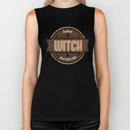 Instant Witch Just Add Coffee Funny Gift Idea Biker Tank