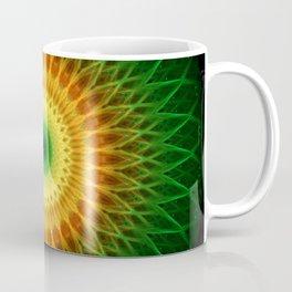 Dragon Eye Mandala Coffee Mug
