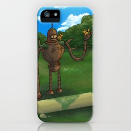 Laputan Bender iPhone Case