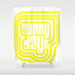 Sunny Days #society6 #decor #buyart Shower Curtain